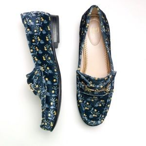 NEW CAbi Carnaby Floral Loafers